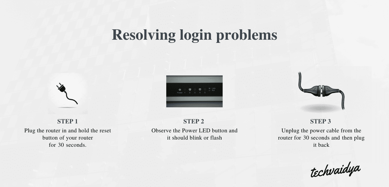 fix linksys router problems