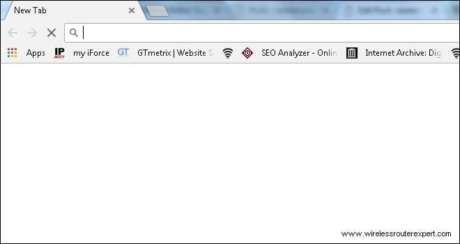open new browser for dlink