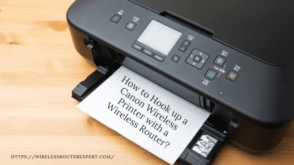 Canon Printer Setup With Wifi