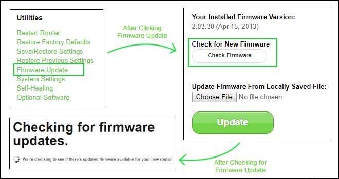 update my firmware