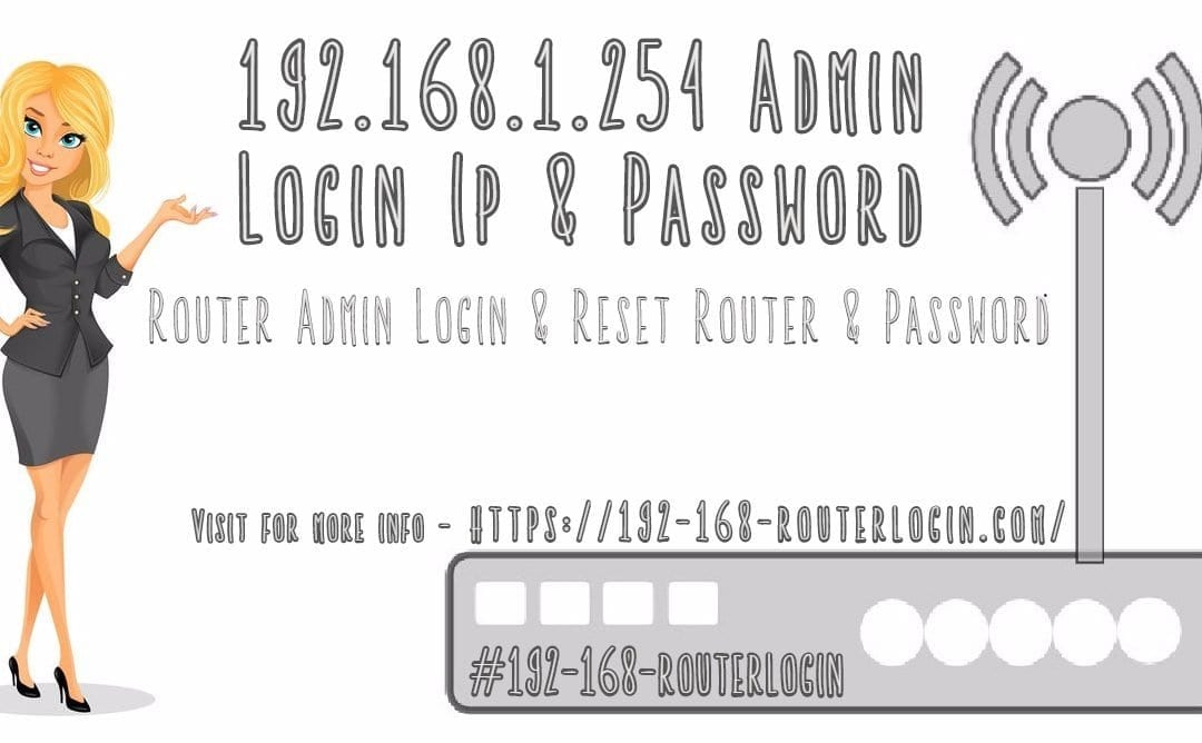 192.168.1.254 Router Login