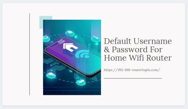 default username & password