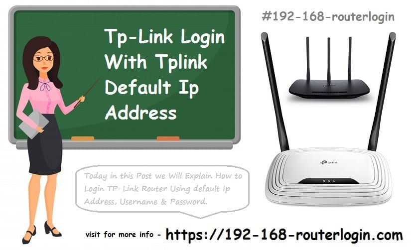 Tp-Link Login With Tplink Default Ip Address