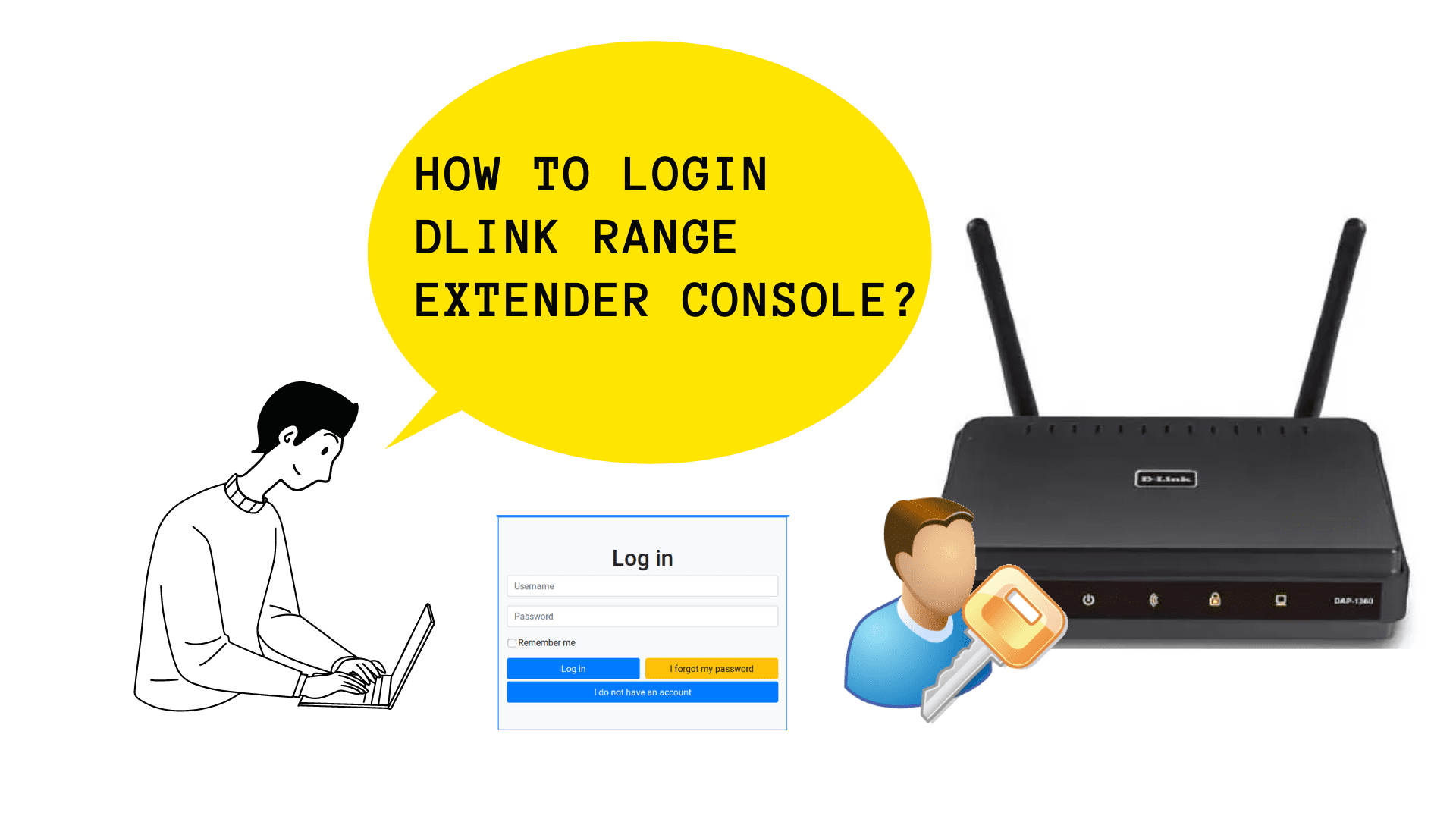 How to Login Dlink Range Extender Console?