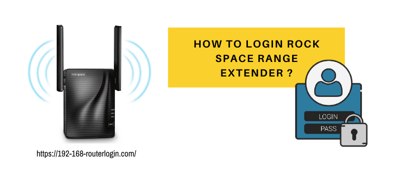 How to login rock space range extender ?