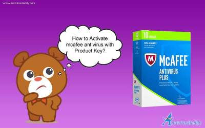 activte mcafee antivirus with product key