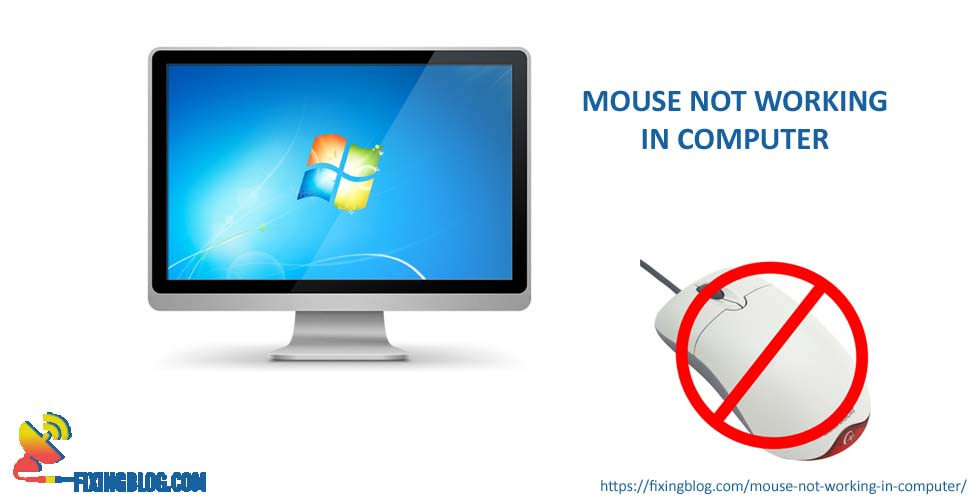 Why Mouse is not working in computer ?