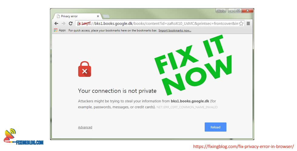 Connection is Not Private? Fix Privacy Error In Browser