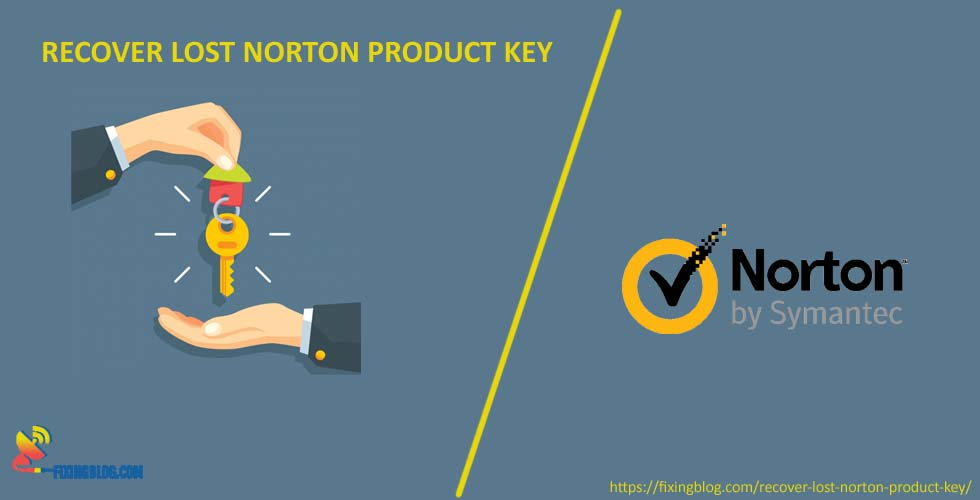How to Recover Lost Norton Product Key ?