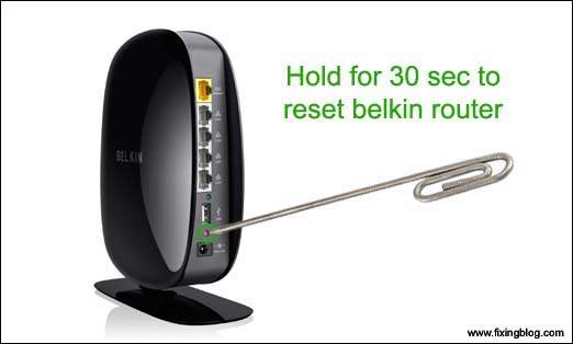 Belkin Router is not working